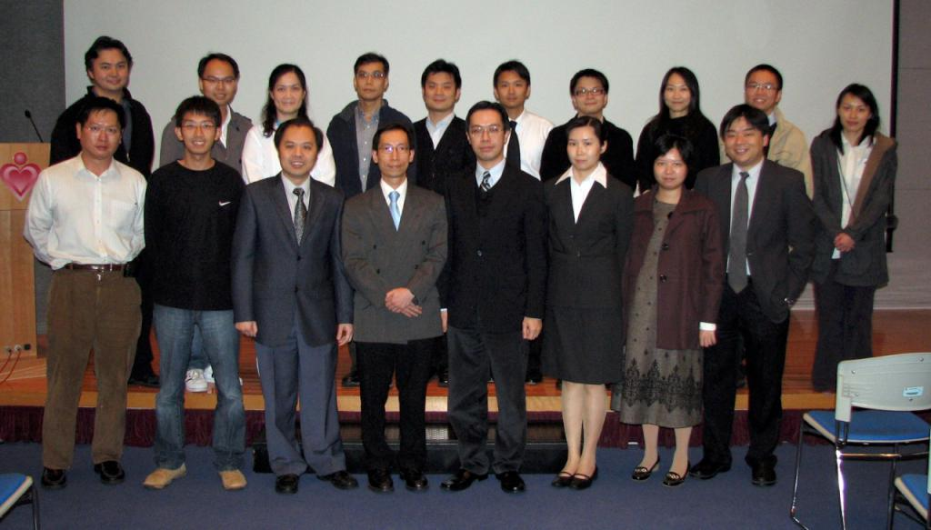 Editorial board members, from left to right, Front row: Dr SIU Kin Lok, Dr HO Chun Ming, Dr TANG Kam Shing, Dr CHING Chi Keung (Associate Editor), Dr LAU Chun Wing Arthur (Editor-in-chief), Dr LIONG Ting, Dr HO Eunise, Dr CHAN Yan Fat Alfred; Back row: Dr TAI Kian Bun, Dr CHAN Stanley, Dr CHAN Pik Kei Osburga, Dr SO Sheung On, Dr WONG Wai Tat, Dr SIN Simon, Dr CHAN Chin Pang Ian, Dr LAM Sin Man Grace, Dr SHUM Hoi Ping, Dr SINN Ting Ting Maria