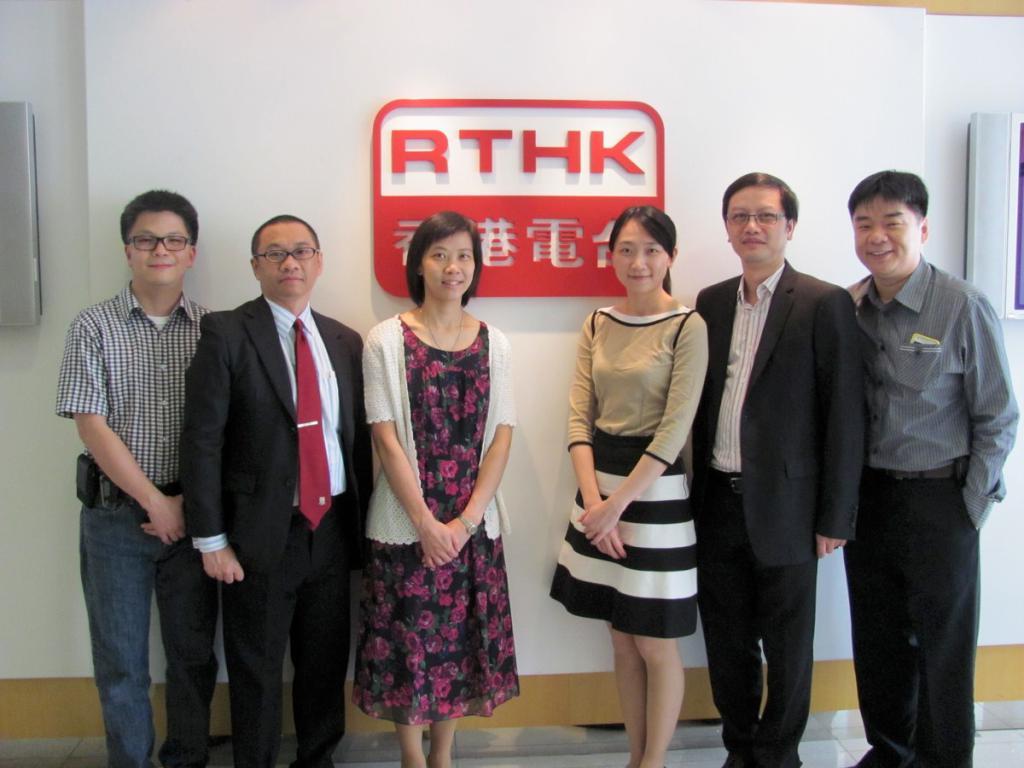 由左至右: 陳展鵬醫生,邵國華先生,梁結雄醫生,林倩雯醫生,羅建業醫生,陳恩發醫生