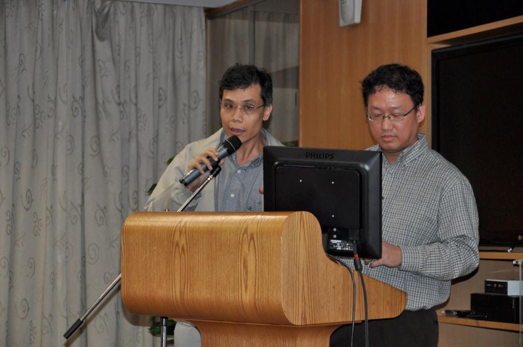 Dr S O SO and Dr C H NG