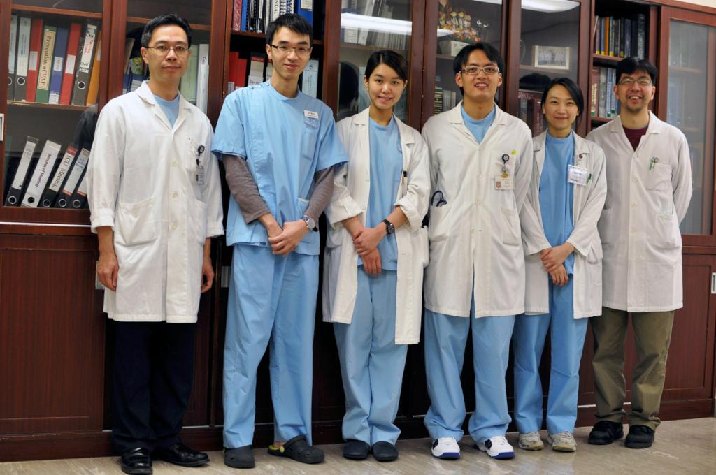 From left to right: Dr Arthur CW Lau, Dr Patrick YH Wong, Dr Florence Chan, Dr Luke Leung, Dr Grace SM Lam, Dr Kenny KC Chan